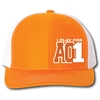 I Play For AO1 - TN Orange / White Mesh Back Trucker Cap