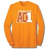 I Play For AO1 - L/S Orange Tee