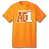 I Play For AO1 - S/S Orange Tee