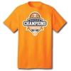 2018 Mens SEC Basketball Champions - S/S Orange Tee